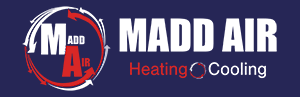 Madd Air-Heating and Cooling Logo