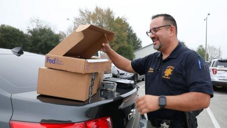 HCSO Cracks Down on Package Thieves